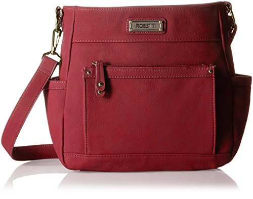 rosetti-sooner-or-layer-crossbody-damen-rot
