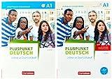 Pluspunkt Deutsch - Leben in Deutschland - Allgemeine Ausgabe: A1: Gesamtband - Arbeitsbuch und Kursbuch: 120555-3 und 120763-2 im Paket