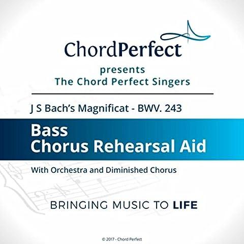Magnificat, BWV 243: 11. Sicut Locutus Est (Bass Chorus Rehearsal Aid)