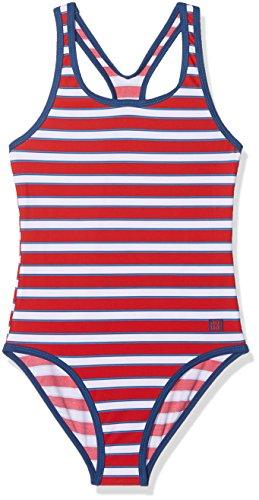 Schiesser Mädchen Badeanzug, Rot (Rot 500), 176