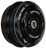 Cane Creek 40-Series ZEROSTACK Kurzer Bezug, komplett für 44mm Head-Tube (1–1/8Zoll Gerade Steuerrohr), schwarz