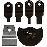 EinhellTrade–Kit Set Zubehör Werkzeug Einhell BT-MG 180/1Multifunktionswerkzeug Schnitte Sega