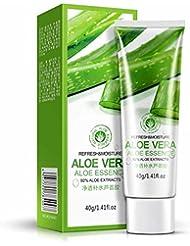 Tefamore Aloe Vera Oil Control Crème hydrosoluble pour l'acné Poudres Blackhead Shrink