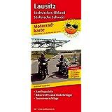 Lausitz, Sächsisches Elbland - Sächsische Schweiz: Motorradkarte mit Ausflugszielen, Einkehr- & Freizeittipps und Tourenvorschlägen, wetterfest, reissfest, abwischbar, GPS-genau. 1:200000