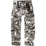 Brandit Pure Vintage Pantaloni, Multicolore (Urban 15), L Uomo
