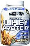 Muscletech 100% Premium Whey Protein Plus (5lbs) Triple Chocolate, 2.267 kg