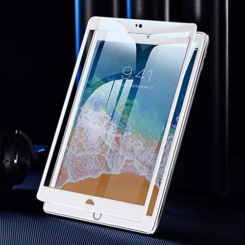 OnyxTM Premium 10D Full Coverage Gorilla Ultra HD+ 0.26mm Panzerfolie Schutzfolie für Apple iPad Air/Air 2 / Air 3 / Pro 9.7 Zoll - 9H Tempered Glass Protector - WEIßER Rand ⭐️⭐️⭐️⭐️⭐️