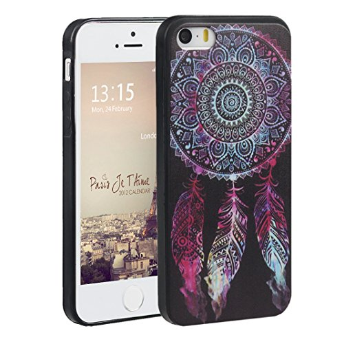 iPhone 5s Cover suave,Asnlove Custodia TPU Gel