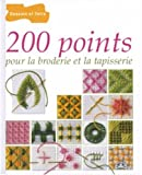 200 points pour la broderie et la tapisserie