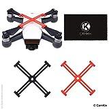 CamKix Fijadores de hélice Compatible con dji Spark – 2 Paquetes