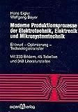 Image de Moderne Produktionsprozesse der Elektrotechnik, Elektronik und Mikrosystemtechnik: Entwurf