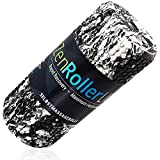 Faszien Rolle ZenRoller Light + Gratis E-Book & Übungsposter I Faszienrolle I Premium Foam Roller I Faszienroller Gymnastikrolle Fitness-Rolle (Schwarz-Weiß)