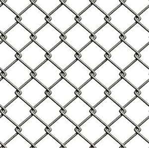 Bhadi Hardware Metal Wire Mesh Roll (15 Feet x 50 Feet x 3 Mm, Grey, Set Of 2)