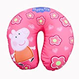 Li'll Pumpkins Light Pink Peppa Pig Neck Pillow