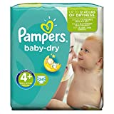 Pampers Baby Dry Größe 4 + Carry Pack, 24 Windeln