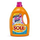 Sole con Vanish, Detersivo per Lavatrice Liquido, 60 Lavaggi