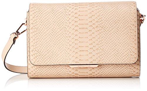 Kendall + Kylie Damen Bobino Snake Clutch, 10x16.5x27 cm Pink (Cream)