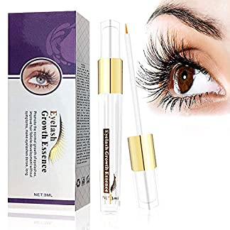Suero de Crecimiento de Pestañas y Cejas, Eyelash Enhancer Serum Crece y Alarga tus Pestañas Naturales, Serum de Reforzador 3 ml