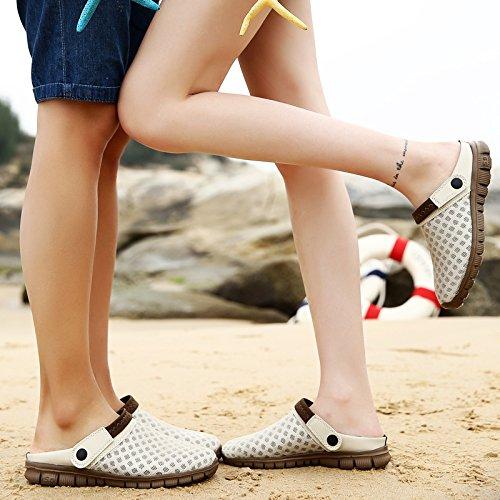 Hommes chaussures d'été trou chaussures de plage, chaussons, tendance, ventilation, chaussons, amoureux, grande taille, Bird's Nest, cool shoes 1927 rice dumplings