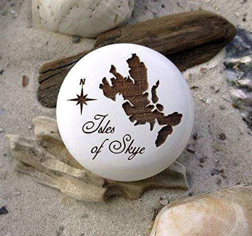 Möbelknauf Isles of Skye Gravur Möbelknopf Insel Schottland (Möbel Britische)