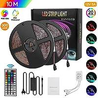 Tiras LED 10M 5050 RGB Tiras de Luces LED Ilumi...