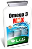 """LLS High Strength Omega 3 MAX Fish Oil 