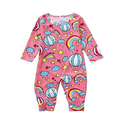 Babykleidung Set,Beikoard Baby Langarm Regenbogen Jumpsuit Bekleidungsset Kleidung Outfits