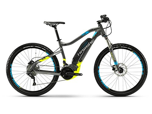 Haibike SDURO HardNine 3.5 E-Bike 500Wh E-Mountainbike schwarz/lime/blau matt