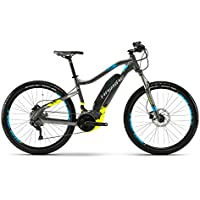 Haibike Sduro hardnine 3.5 E-Bike 500 WH S de Mountain Bike Negro/lime/azul mate, color schwarz/lime/blau matt, tamaño 45 - M