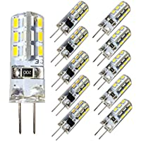 10 X Jc G4 12v 20w Clear Halogen Transparent Replacement Light Lamp Bulb White Wedding Party Decoration 3000k G9 Halogen Bulb Lights & Lighting Light Bulbs