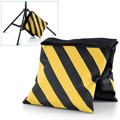 neewerr-set-von-vier-schwarz-gelb-hochleistungs-sandsack-studio-video-buhne-film-sandbag-satteltasch