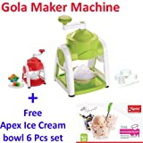 A To Z Sales Manual Gola Maker with Slush Maker and Ice Crusher