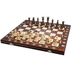 Albatros 2479 - Holz-Schachspiel Da Vinci, 42 x 42 cm Schach