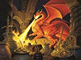 Smaug Dragon a 1000-Piece Jigsaw Puzzle by Sunsout Inc. by SunsOut
