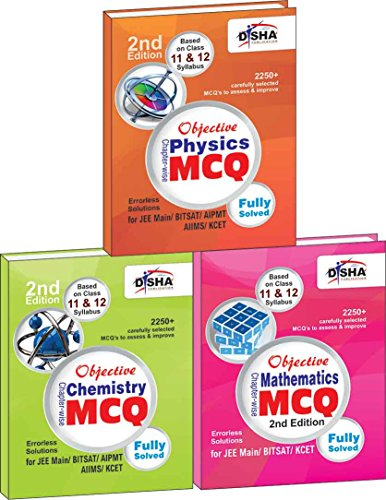 Objective Physics, Chemistry, Mathematics: Chapter-wise MCQ for JEE Main/BITSAT/KCET (Box Set)