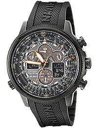 Citizen JY8035-04E - Reloj para hombres, correa de goma color negro