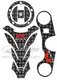 Sticker Kit 3d Schutz Kompatibel für Motorrad Suzuki GSX-R 600 e 750 2006-2016