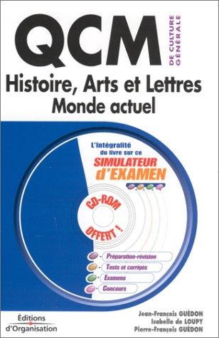 QCM de culture générale : Histoire, Arts et Lettres Monde actuel