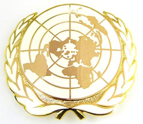 UN Vereinte Nationen Barett Abzeichen/Kappe