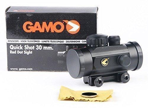 Gamo Quick Shot BZ 30mm Red Dot Sight 11mm Rail Air Rifle Pistol Airgun 6212035