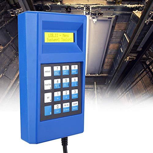 NOBGP Elevator Server-Debugging-Tool, Elevator Lift-Test-Tool Escalator Server-Testförderer-Debugging-Tools mit zweizeiligem LCD-Display für Otis, XIZI, Otis