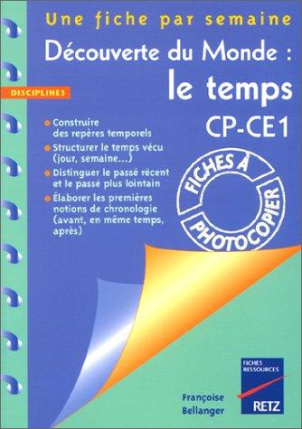 Découverte du monde : le temps CP-CE1