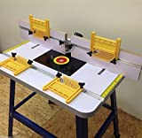 Best Router Tables - PRO ROUTER TABLE BENCH - FLOOR STANDING WITH Review