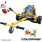 COLORWAY Aiento Kart para Hoverboard de Equilibrio Automático Compatible con Scooter Electrico 6,5, 8 y 10 Pulgadas