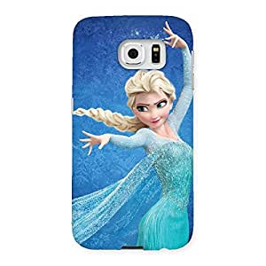 Gorgeous Angel And Cutness Back Case Cover for Samsung Galaxy S6
