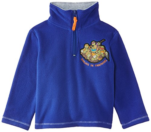 Nickelodeon Jungen Sweatshirt Teenage Ninja Mutant Hero Turtles NH1209, Gr. 104 (Herstellergröße: 4 ans), Blau (Tourag Blue) (Blue Turtle Ninja)
