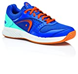 HEAD Herren Sprint Team Squashschuhe, Blau (Blue/Shocking Orange Blso), 47 EU