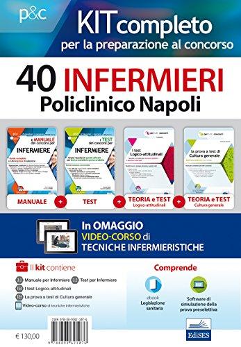 Kit completo per la preparazione al concorso 40 infermieri AOU Policlinico di Napoli