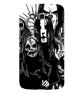 EPICCASE the ghost Mobile Back Case Cover For Samsung Galaxy Grand (Designer Case)