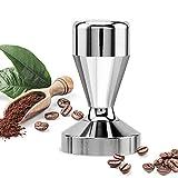 innislink Kaffee Tamper 51mm, Kaffeemehlpresser Espresso Tamper 51mm Espresso Stampfer Stempel Barista Style Espresso Kaffeebohnenpresse aus Edelstahl für Siebträger-Espressomaschinen- 51mm